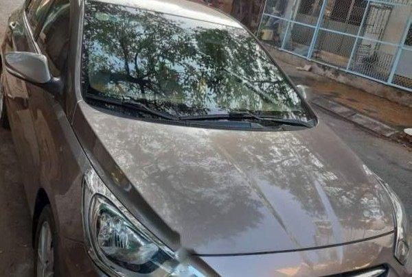 Bán lại xe Hyundai Accent đời 2012, màu xám, xe nhập0