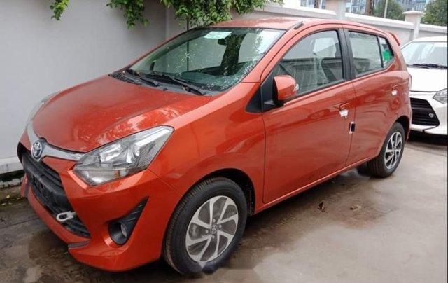 Bán xe Toyota Wigo năm 2019, màu đỏ, nhập khẩu2