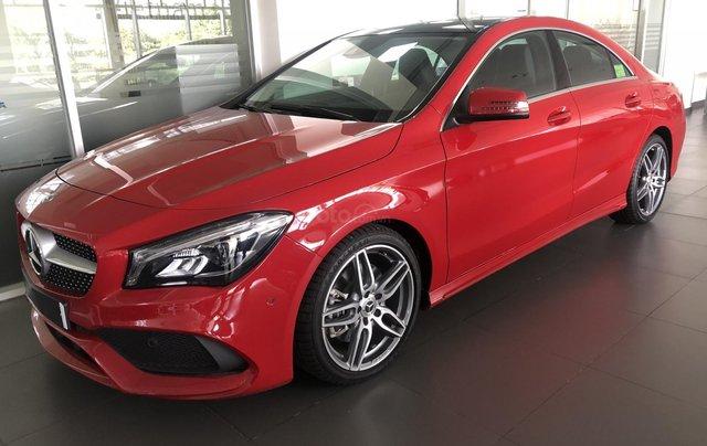 Bán xe Mercedes CLA 250 mới, màu đỏ, xe nhập khẩu, vay trả góp 80% giá trị xe, lãi 0.77%/tháng cố định 36 tháng0