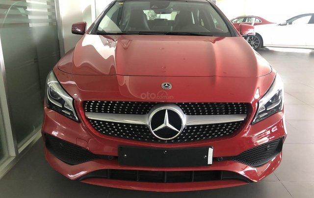 Bán xe Mercedes CLA 250 mới, màu đỏ, xe nhập khẩu, vay trả góp 80% giá trị xe, lãi 0.77%/tháng cố định 36 tháng3