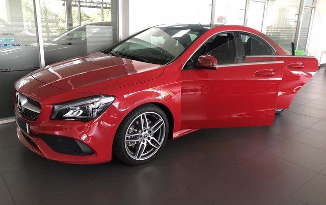 Bán xe Mercedes CLA 250 mới, màu đỏ, xe nhập khẩu, vay trả góp 80% giá trị xe, lãi 0.77%/tháng cố định 36 tháng8