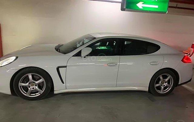 Bán ô tô Porsche Panamera sản xuất năm 2014, màu trắng, nhập khẩu nguyên chiếc xe gia đình1