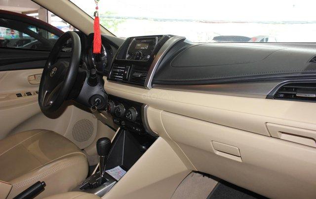 Bán ô tô Toyota Vios LX đời 2017, màu vàng cát, giá tốt2