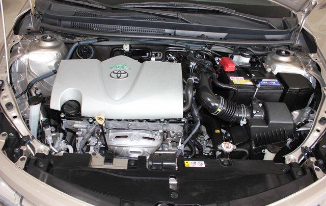 Bán ô tô Toyota Vios LX đời 2017, màu vàng cát, giá tốt4