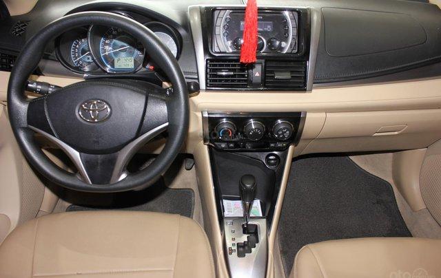 Bán ô tô Toyota Vios LX đời 2017, màu vàng cát, giá tốt5