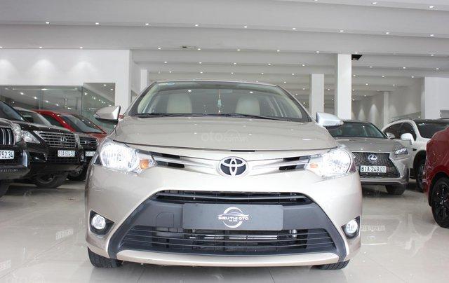 Bán ô tô Toyota Vios LX đời 2017, màu vàng cát, giá tốt6