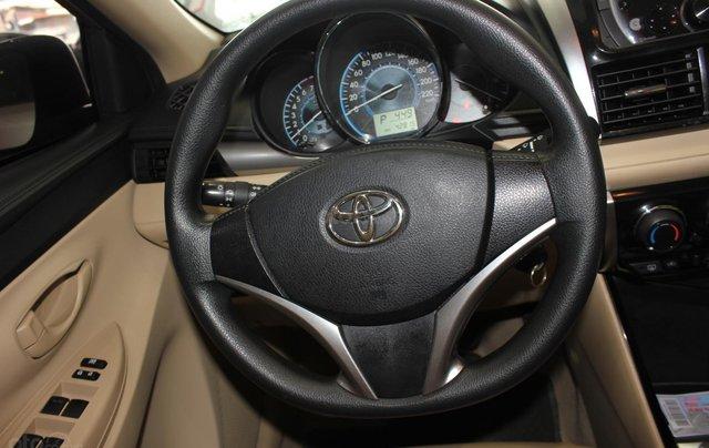 Bán ô tô Toyota Vios LX đời 2017, màu vàng cát, giá tốt8