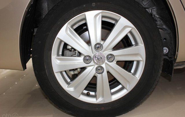 Bán ô tô Toyota Vios LX đời 2017, màu vàng cát, giá tốt13