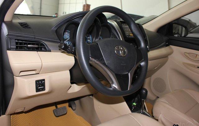 Bán ô tô Toyota Vios LX đời 2017, màu vàng cát, giá tốt15