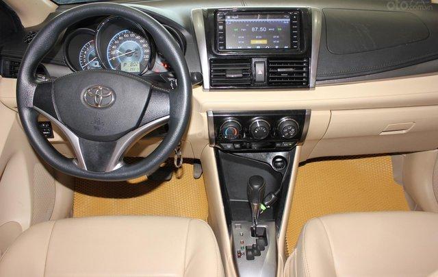 Bán ô tô Toyota Vios LX đời 2017, màu vàng cát, giá tốt16