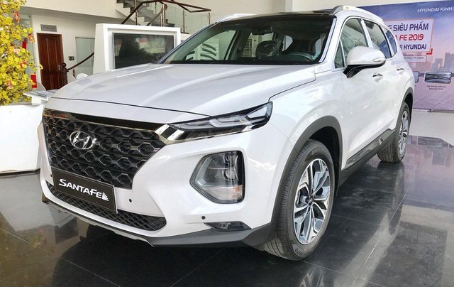Bán Hyundai Santa Fe 2019, đủ màu, giao ngay. Giá chỉ từ 999tr1