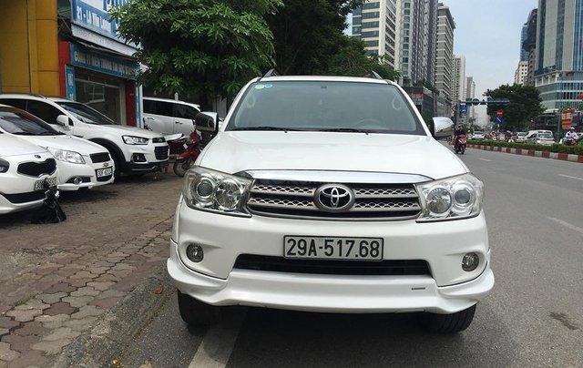Cần bán Toyota Fortuner TRD Sportivo 2.7V sản xuất năm 2012, màu trắng, 635tr0