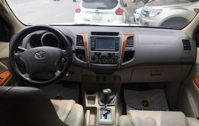 Cần bán Toyota Fortuner TRD Sportivo 2.7V sản xuất năm 2012, màu trắng, 635tr8