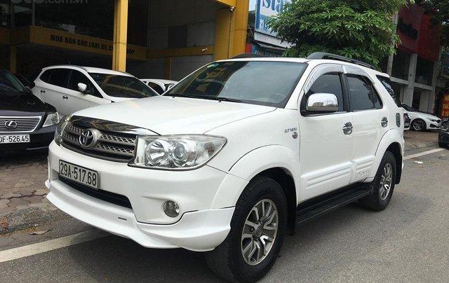 Cần bán Toyota Fortuner TRD Sportivo 2.7V sản xuất năm 2012, màu trắng, 635tr3