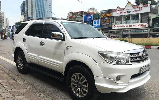 Cần bán Toyota Fortuner TRD Sportivo 2.7V sản xuất năm 2012, màu trắng, 635tr2