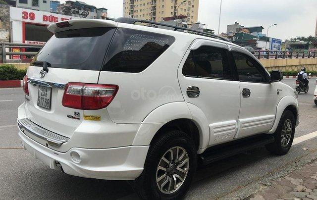 Cần bán Toyota Fortuner TRD Sportivo 2.7V sản xuất năm 2012, màu trắng, 635tr5