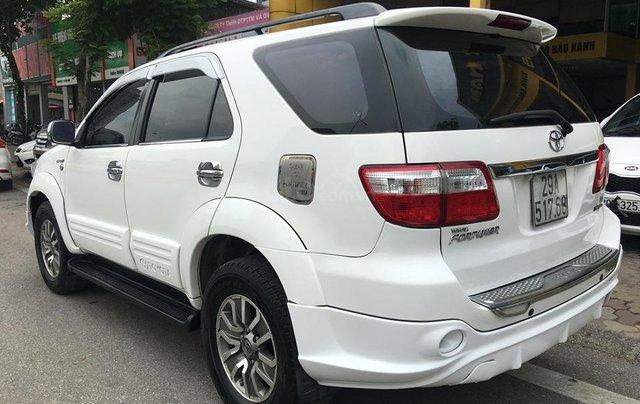 Cần bán Toyota Fortuner TRD Sportivo 2.7V sản xuất năm 2012, màu trắng, 635tr4