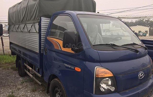 Bán Hyundai Porter H150 đời 2018, màu xanh lam, giá 380tr1