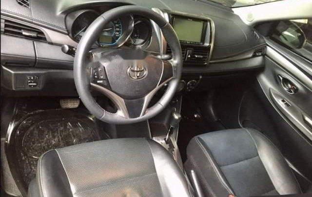 Cần bán xe Toyota Vios đời 2016, màu xám, bảo dưỡng hãng2