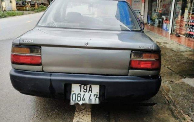 Bán xe Toyota Corona 1.3 năm 1990, màu xám, nhập khẩu4