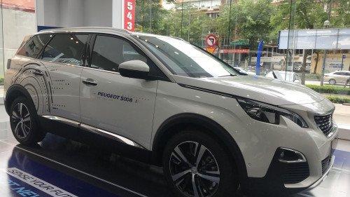 Bán Peugeot 5008 1.6 Turbo AT 2019, màu trắng, nhập khẩu2