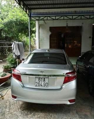 Cần bán xe Toyota Vios đời 2016, màu xám, bảo dưỡng hãng3