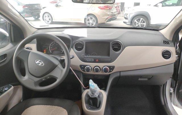 Bán Hyundai Grand i10 năm sản xuất 2019, màu bạc1