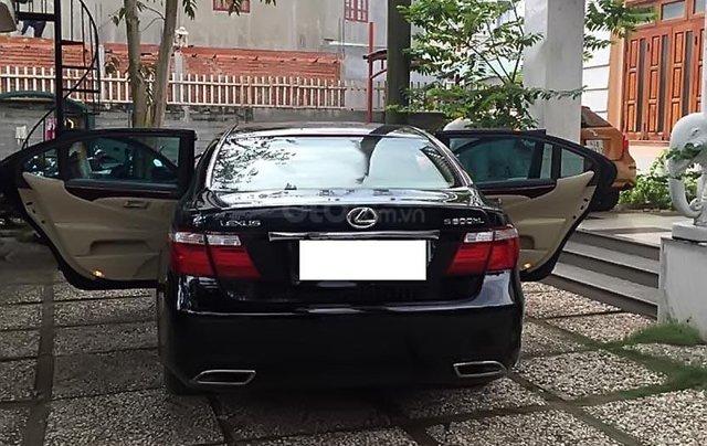 Cần bán gấp Lexus LS 600hL đời 2008, màu đen, xe nhập1