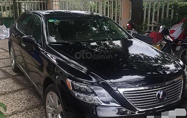 Cần bán gấp Lexus LS 600hL đời 2008, màu đen, xe nhập0