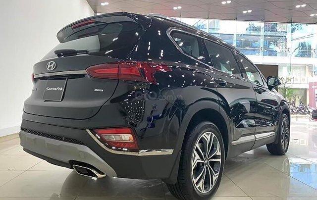 Bán ô tô Hyundai Santa Fe 2.2L HTRAC đời 2019, màu đen1
