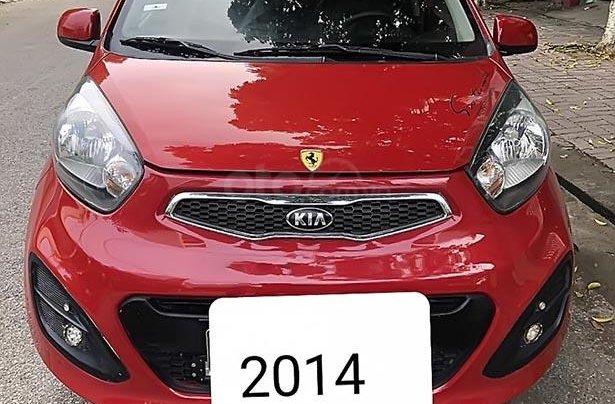Bán xe Kia Morning năm 2014, màu đỏ chính chủ, 225 triệu0