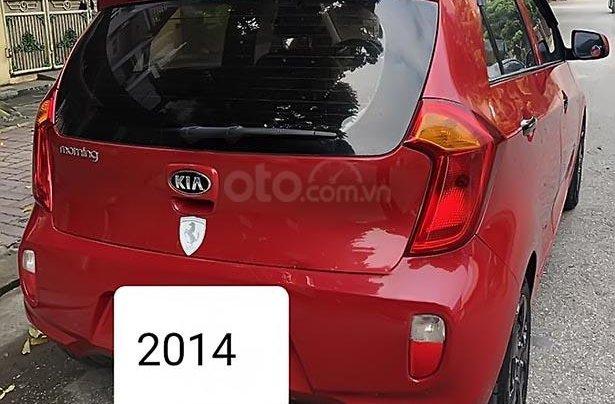 Bán xe Kia Morning năm 2014, màu đỏ chính chủ, 225 triệu1