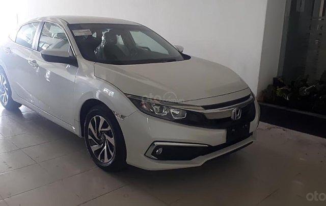 Bán xe Honda Civic E năm 2019, màu trắng, xe nhập, 729 triệu0