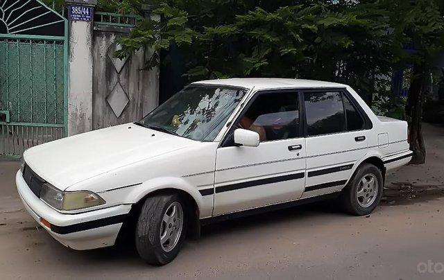 Cần bán xe Toyota Corolla năm 1990, màu trắng, nhập khẩu 1