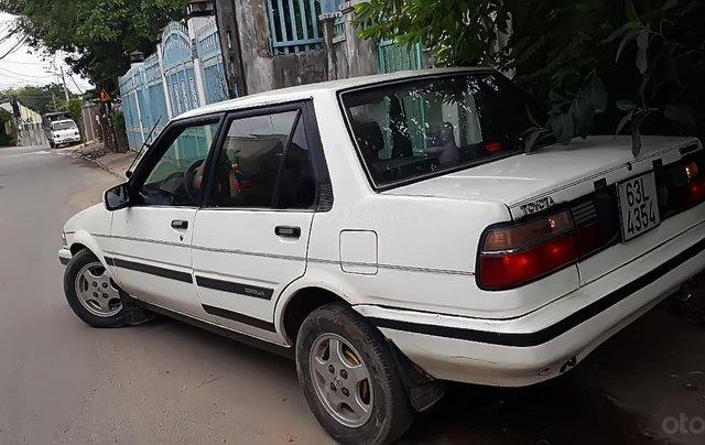 Cần bán xe Toyota Corolla năm 1990, màu trắng, nhập khẩu 0