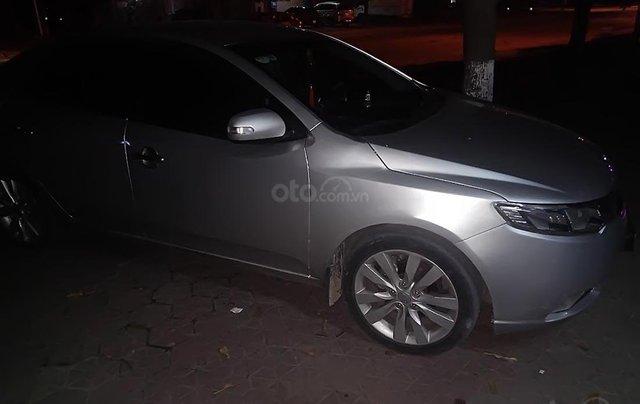 Cần bán gấp Kia Forte năm sản xuất 2009, màu bạc, nhập khẩu  0