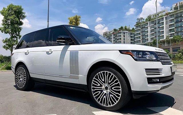 Cần bán gấp LandRover Range Rover HSE sản xuất năm 2015, màu trắng, nhập khẩu nguyên chiếc0