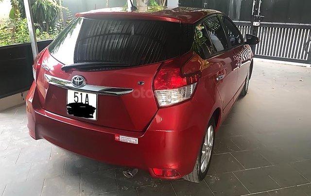 Bán xe Toyota Yaris sản xuất năm 2014, màu đỏ, nhập khẩu nguyên chiếc số tự động, 500 triệu2