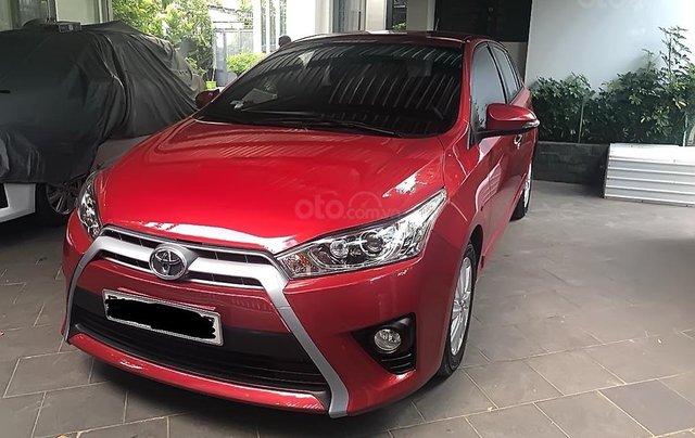 Bán xe Toyota Yaris sản xuất năm 2014, màu đỏ, nhập khẩu nguyên chiếc số tự động, 500 triệu4