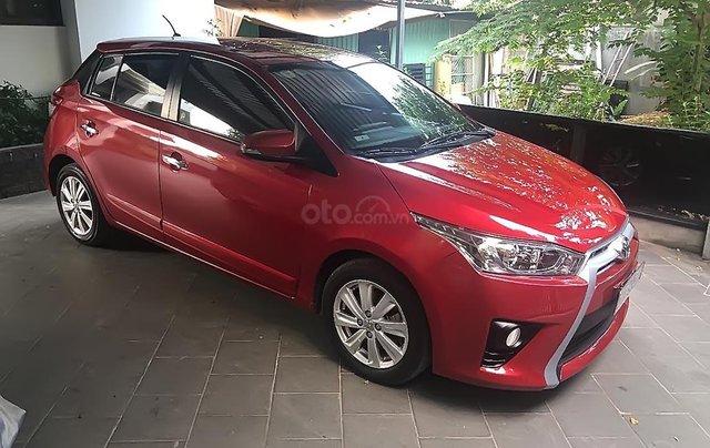 Cần bán Toyota Yaris 2014, màu đỏ, xe nhập số tự động, giá chỉ 500 triệu4