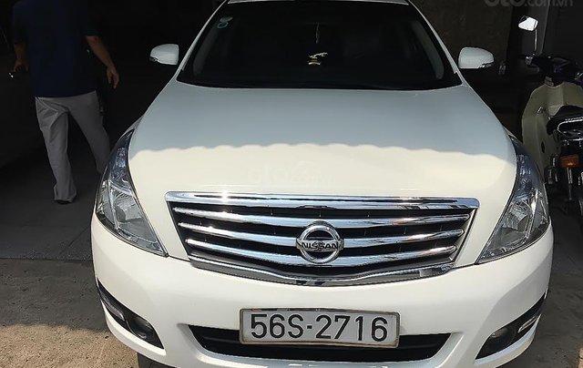 Bán Nissan Teana sản xuất 2010, màu trắng, nhập khẩu nguyên chiếc0