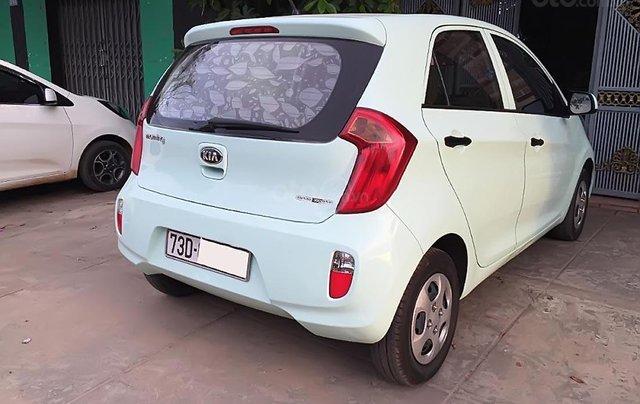 Cần bán lại xe Kia Morning Van năm sản xuất 2014, màu xanh lam 3