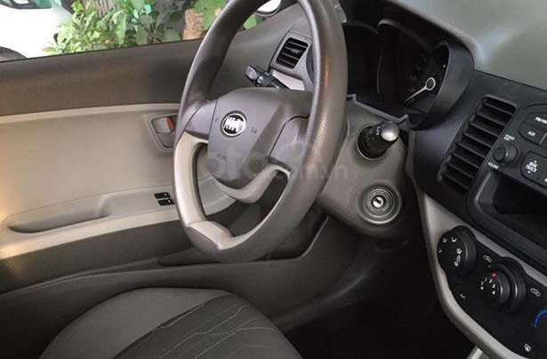 Cần bán lại xe Kia Morning Van năm sản xuất 2014, màu xanh lam 2