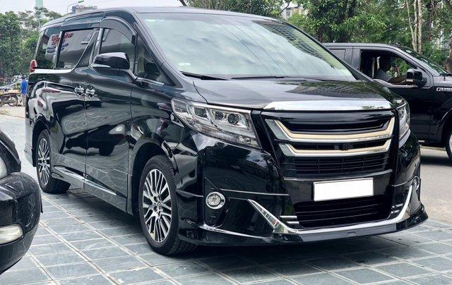 Bán Toyota Alphard 3.5L - V6 sản xuất 2017 model 2018, Mr Huân 09810101610