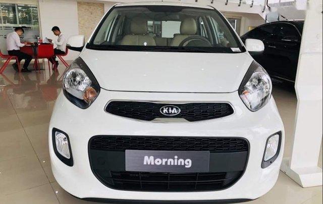 Bán Kia Morning 1.25AT sản xuất 2019, màu trắng, giá tốt0