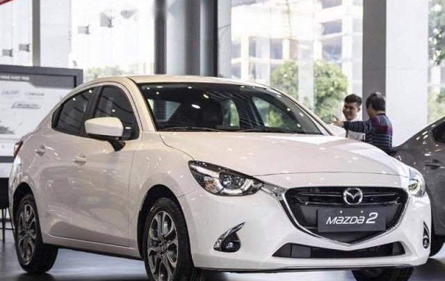 Bán ô tô Mazda 2 năm sản xuất 2019, màu trắng, nhập khẩu nguyên chiếc giá cạnh tranh0