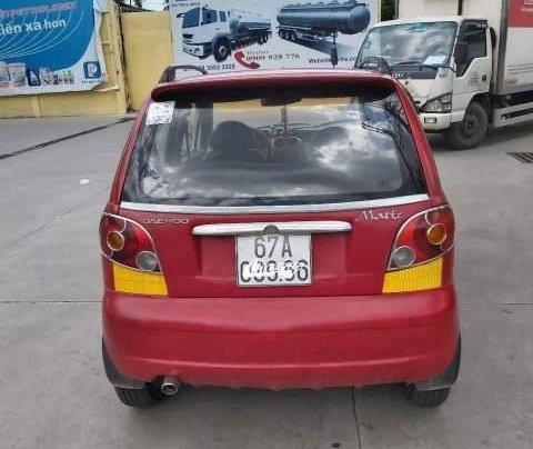 Bán lại xe Daewoo Matiz SE 2007, màu đỏ, nhập khẩu  3