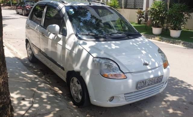Cần bán gấp Chevrolet Spark sản xuất 2009, màu trắng  3