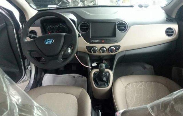 Bán xe Hyundai Grand i10 đời 2019, màu trắng4