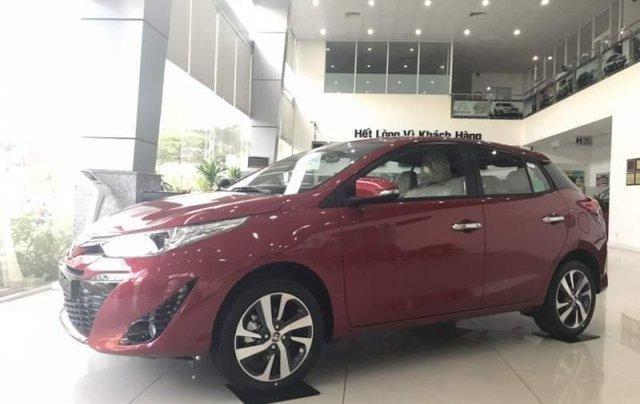 Bán Toyota Yaris sản xuất 2019, màu đỏ, nhập khẩu  5